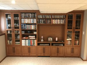 basement wall unit storage