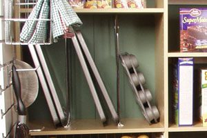 chrome shelf dividers