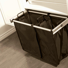 double wide laundry hamper