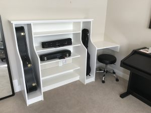 musical instrument storage solution