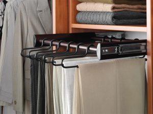 slide out pants hanger
