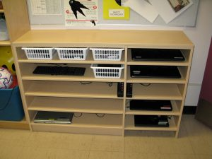 school classroom storage solution