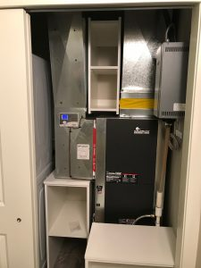 condo furnace room storage solutions
